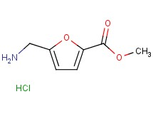 methyl 5-(aminomethyl)-2-furoate hydrochloride