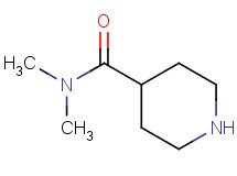 N,N-dimethyl-4-piperidinecarboxamide