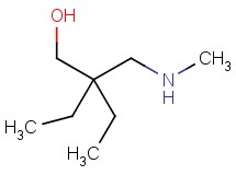 2-ethyl-2-[(methylamino)methyl]butan-1-ol