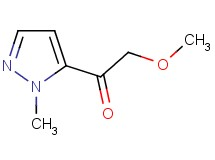 2-methoxy-1-(1-methyl-1H-pyrazol-5-yl)ethanone