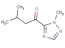 3-methyl-1-(1-methyl-1H-1,2,4-triazol-5-yl)-1-butanone