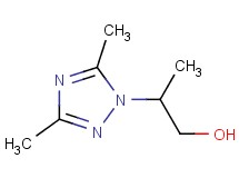2-(3,5-dimethyl-1H-1,2,4-triazol-1-yl)-1-propanol