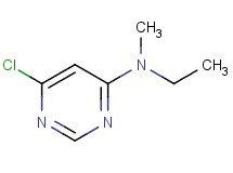 6-chloro-N-ethyl-N-methyl-4-pyrimidinamine