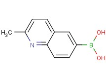 (2-methyl-6-quinolinyl)boronic acid