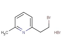 2-(2-bromoethyl)-6-methylpyridine