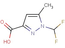 1-(difluoromethyl)-5-methyl-1H-pyrazole-3-carboxylic acid