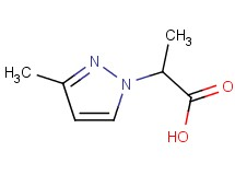 2-(3-methyl-1H-pyrazol-1-yl)propanoic acid