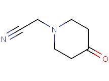 (4-oxo-1-piperidinyl)acetonitrile
