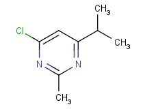 4-chloro-6-isopropyl-2-methylpyrimidine