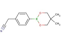 [4-(5,5-dimethyl-1,3,2-dioxaborinan-2-yl)phenyl]acetonitrile