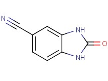 2-oxo-2,3-dihydro-1H-benzimidazole-5-carbonitrile