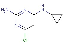 6-chloro-N~4~-cyclopropyl-2,4-pyrimidinediamine