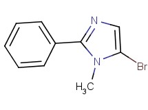 5-bromo-1-methyl-2-phenyl-1H-imidazole