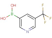 [5-(trifluoromethyl)-3-pyridinyl]boronic acid