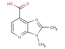 2,3-dimethyl-3H-imidazo[4,5-b]pyridine-7-carboxylic acid