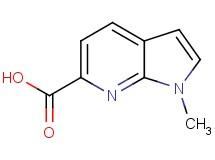 1-methyl-1H-pyrrolo[2,3-b]pyridine-6-carboxylic acid