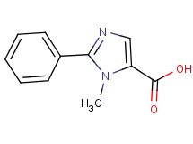 1-methyl-2-phenyl-1H-imidazole-5-carboxylic acid