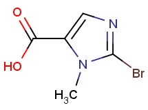 2-bromo-1-methyl-1H-imidazole-5-carboxylic acid