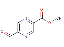methyl 5-formyl-2-pyrazinecarboxylate