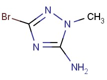 3-bromo-1-methyl-1H-1,2,4-triazol-5-amine
