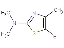 5-bromo-N,N,4-trimethyl-1,3-thiazol-2-amine