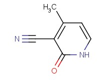 4-methyl-2-oxo-1,2-dihydro-3-pyridinecarbonitrile