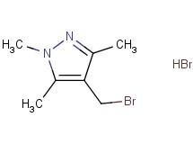 4-(bromomethyl)-1,3,5-trimethyl-1H-pyrazole hydrobromide