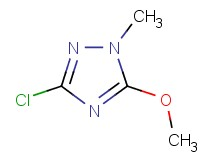 3-chloro-5-methoxy-1-methyl-1H-1,2,4-triazole