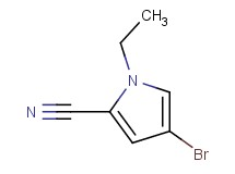 4-bromo-1-ethyl-1H-pyrrole-2-carbonitrile