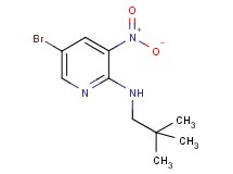 5-bromo-N-(2,2-dimethylpropyl)-3-nitro-2-pyridinamine