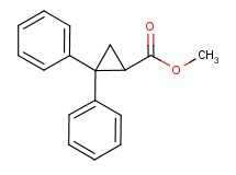 methyl 2,2-diphenylcyclopropanecarboxylate