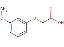 [(3-methoxyphenyl)thio]acetic acid