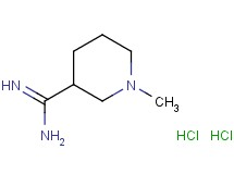 1-methyl-3-piperidinecarboximidamide dihydrochloride