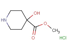 methyl 4-hydroxy-4-piperidinecarboxylate hydrochloride