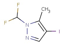 1-(difluoromethyl)-4-iodo-5-methyl-1H-pyrazole