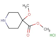 methyl 4-methoxy-4-piperidinecarboxylate hydrochloride