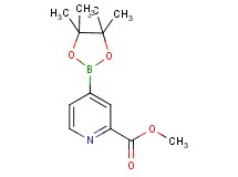 methyl 4-(4,4,5,5-tetramethyl-1,3,2-dioxaborolan-2-yl)-2-pyridinecarboxylate