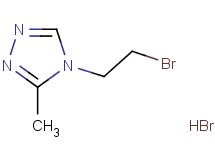 4-(2-bromoethyl)-3-methyl-4H-1,2,4-triazole