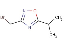3-(bromomethyl)-5-isopropyl-1,2,4-oxadiazole