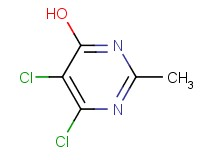 5,6-dichloro-2-methyl-4-pyrimidinol