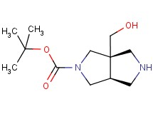 tert-butyl cis-3a-(hydroxymethyl)hexahydropyrrolo[3,4-c]pyrrole-2(1H)-carboxylate