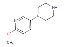 1-(6-methoxy-3-pyridinyl)piperazine