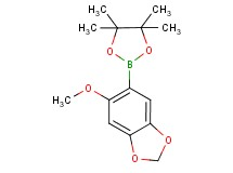 5-methoxy-6-(4,4,5,5-tetramethyl-1,3,2-dioxaborolan-2-yl)-1,3-benzodioxole