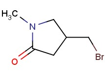 4-(bromomethyl)-1-methyl-2-pyrrolidinone