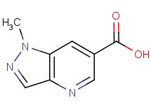 1-methyl-1H-pyrazolo[4,3-b]pyridine-6-carboxylic acid