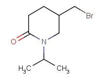 5-(bromomethyl)-1-isopropyl-2-piperidinone