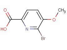 6-bromo-5-methoxy-2-pyridinecarboxylic acid