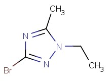 3-bromo-1-ethyl-5-methyl-1H-1,2,4-triazole