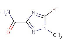 5-bromo-1-methyl-1H-1,2,4-triazole-3-carboxamide