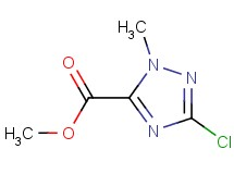 methyl 3-chloro-1-methyl-1H-1,2,4-triazole-5-carboxylate